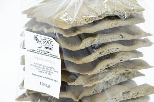 Schiacciatine di Grano Saraceno - Az. Agr. Brado e le Strie