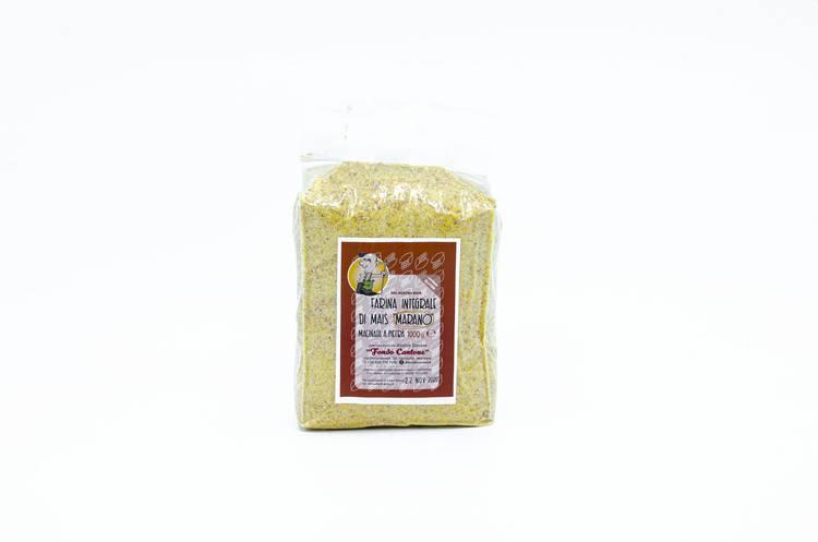 Farina di Mais Marano - Fondo Cantone