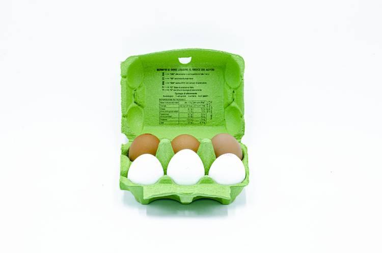 """Uova da Galline da Pascolo Classe """"0"""" - Pollo Ruspante"""
