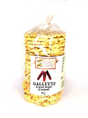 Gallette di Mais Rosso Integrale - Corte Brede